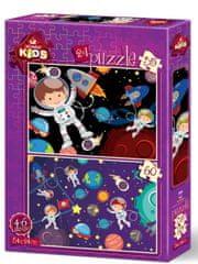 Art puzzle 2 Puzzles - Space