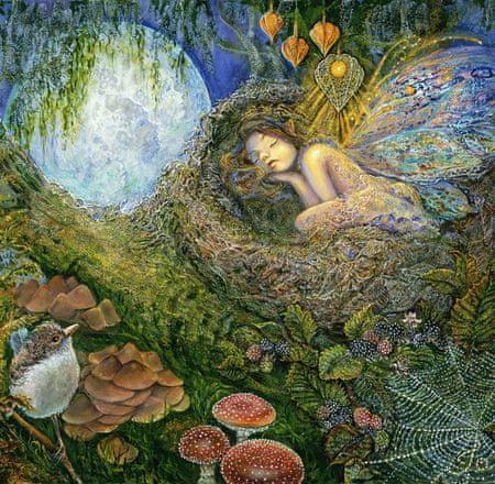 Grafika Puzzle 1500 db Josephine Wall - Fairy Nest