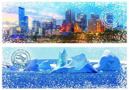 Grafika Puzzle 1000 db Travel around the World - Australia and Antarctica