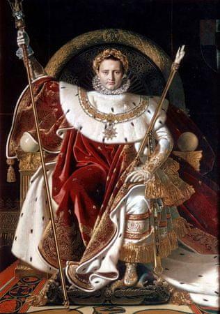 Grafika Puzzle 1000 db Jean-Auguste-Dominique Ingres: Napoléon on the Impe