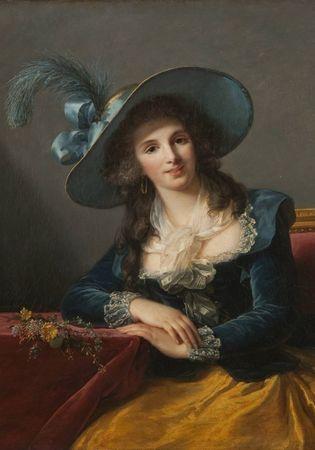 Grafika Puzzle 1000 db Louise-Élisabeth Vigee le Brun: Comtesse de Segur,