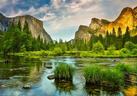 Grafika Puzzle 1000 db Yosemite National Park WebsiteDirections, USA