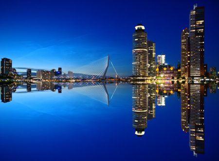 Grafika Puzzle 2000 db Rotterdam