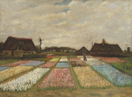 Grafika Puzzle 2000 db Vincent Van Gogh - Flower Beds in Holland, 1883