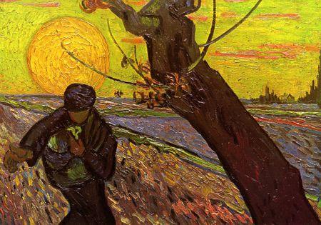Grafika Puzzle 1000 db Van Gogh : The Sower, 1888