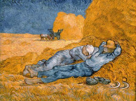 Grafika Puzzle 2000 db Van Gogh Vincent: La Sieste (d'après Millet), 1890