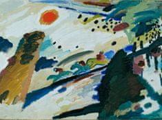 Grafika Puzzle 2000 dielikov Wassily Kandinsky - Romantic Landscape, 1911