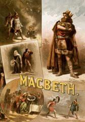 Grafika Puzzle 1000 db Affiche pour une production Américaine de Macbeth,
