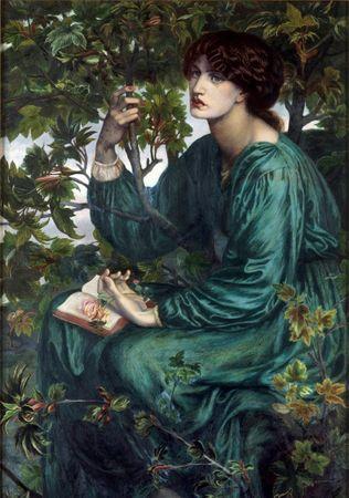 Grafika Puzzle 1000 db Dante Gabriel Rossetti : A Day Dream, 1880