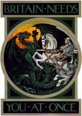 Grafika Puzzle 1000 db Affiche de Recrutement de l'Armée Britanique, 1915