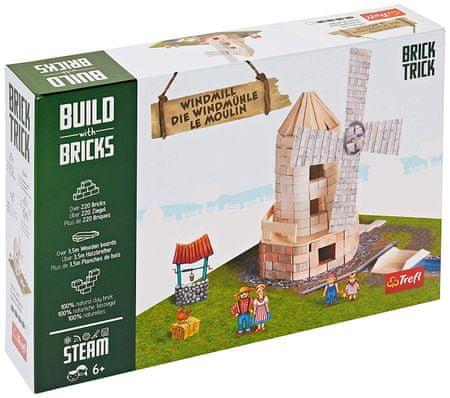 Trefl Puzzle 220 db Build with Bricks - Windmill