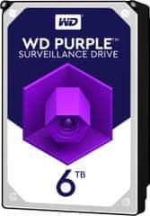 "Western Digital WD Purple (PURZ), 3,5"" - 6TB WD60PURZ"