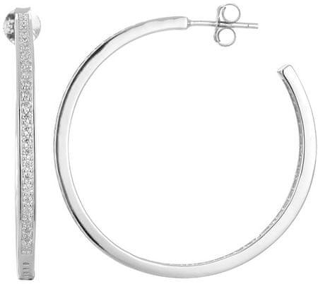 Beneto Kerek ezüst fülbevaló AGUP1177 ezüst 925/1000