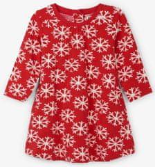 Hatley haljina za djevojčice s pahuljicama