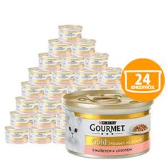 Gourmet Gold losos i piletina 24 x 85 g