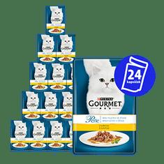 Gourmet mokra karma dla kota Perle z kurczakiem 24 x 85g