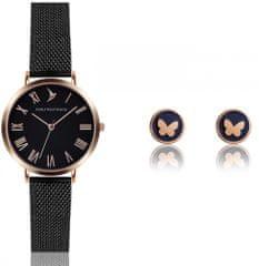 Emily Westwood zestaw zegarek damski i kolczyki EWS017