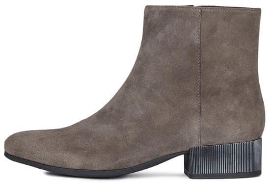 Geox dámská kotníčková obuv Peython D94ECB 00021 41.0 sivá