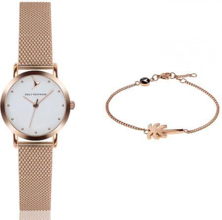 Emily Westwood EWS019 komplet ženskog ručnog sata i narukvice