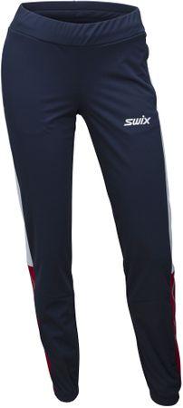 Swix Dynamic ženske hlače za tek na smučeh (22828), S, temno modra