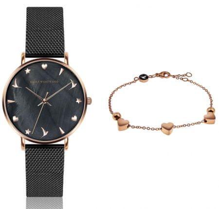 Emily Westwood EWS020 komplet ženskog ručnog sata i narukvice