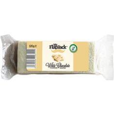 Mr.FlapJack energijske čokoladice, 120g, bela čokolada