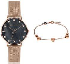 Emily Westwood zestaw zegarek damski i bransoletka EWS021