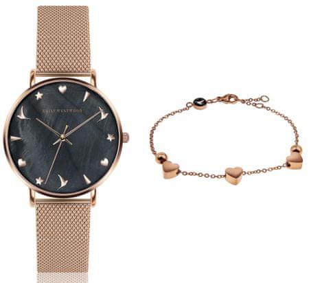 Emily Westwood EWS021 komplet ženskog ručnog sata i narukvice