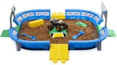 Spin Master Monster Jam Písková aréna pro auta
