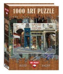 Art puzzle Dřevěné puzzle Kavárna Leon 1000 dílků