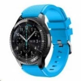 eses silikonski pašček za Samsung Galaxy Watch 46mm / Samsung Gear S3 1530000388, nebeško modra