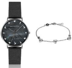 Emily Westwood zestaw zegarek damski i bransoletka EWS022