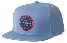 Rip Curl męska czapka snapback jasnoniebieska Mission Badge Sb Cap