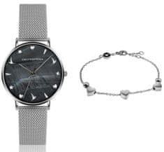 Emily Westwood zestaw zegarek damski i bransoletka EWS023