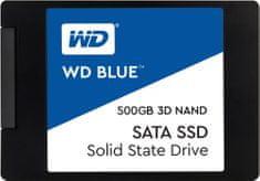 "Western Digital WD SSD Blue 3D NAND, 2,5"" - 500GB"