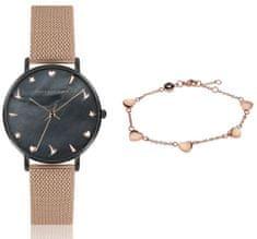 Emily Westwood set dámskych hodiniek a náramku EWS025