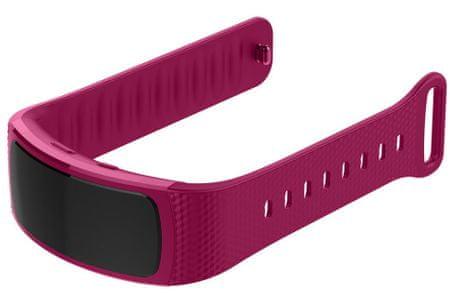 eses silikonski pašček za Samsung Gear Fit 2/Gear Fit 2 Pro 1530000737, velikost S, vijoličen
