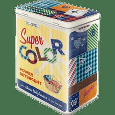 Postershop Plechová dóza L - Super Color