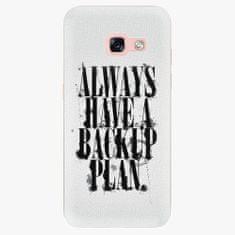 iSaprio Plastový kryt - Backup Plan - Samsung Galaxy A3 2017