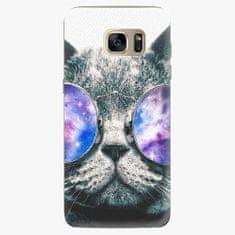 iSaprio Silikonové pouzdro - Galaxy Cat - Samsung Galaxy S7 Edge
