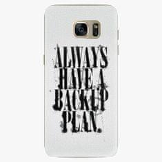iSaprio Plastový kryt - Backup Plan - Samsung Galaxy S7 Edge