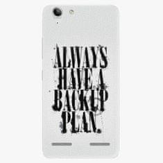 iSaprio Plastový kryt - Backup Plan - Lenovo Vibe K5