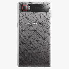iSaprio Plastový kryt - Abstract Triangles 03 - black - Lenovo Z2 Pro