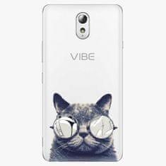 iSaprio Plastový kryt - Crazy Cat 01 - Lenovo P1m