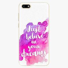 iSaprio Plastový kryt - Believe - Huawei Y5 2018
