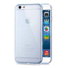 iSaprio Pružný kryt HAWEEL 0.3mm Zero pro iPhone 6 Plus / 6S Plus modrý