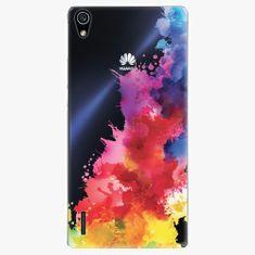 iSaprio Plastový kryt - Color Splash 01 - Huawei Ascend P7