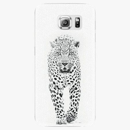 iSaprio Plastový kryt - White Jaguar - Samsung Galaxy S6