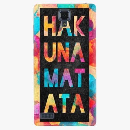 iSaprio Plastový kryt - Hakuna Matata 01 - Xiaomi Redmi Note