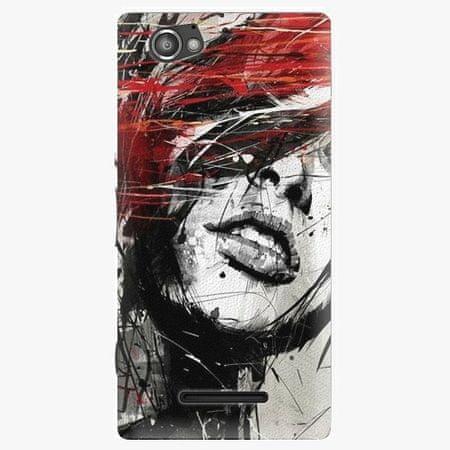 iSaprio Plastový kryt - Sketch Face - Sony Xperia M